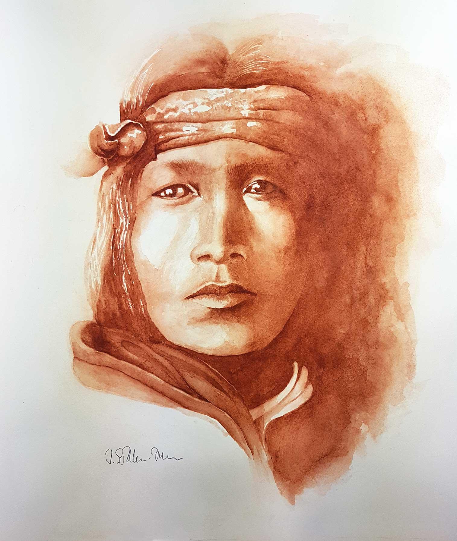Acoma Indianer